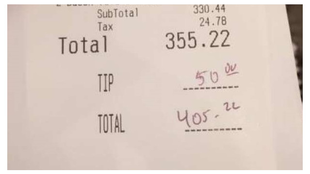 California woman picks up $405 tab for a group of firefighters