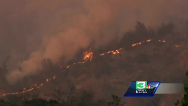 Photos of Detwiler Wildfire in Mariposa County
