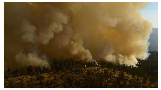 Mandatory evacuation issued for Yosemite's Wawona as South Fork Fire threatens
