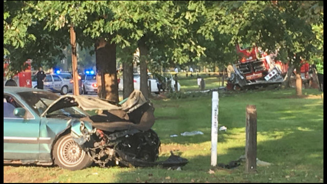 One Person Killed in Collision with KY Ladder Truck
