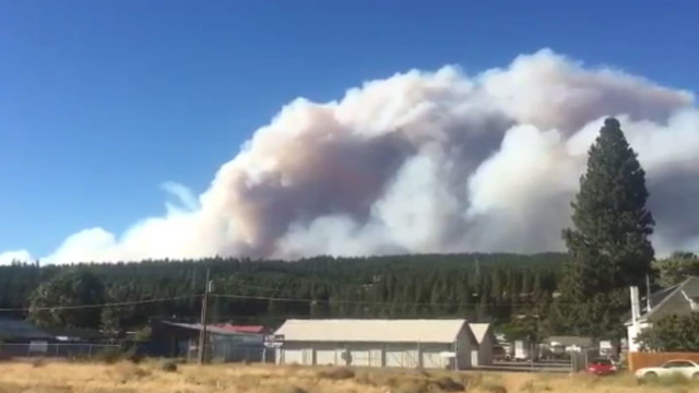 Jolly Mountain Fire grows, prompting new evacuation orders