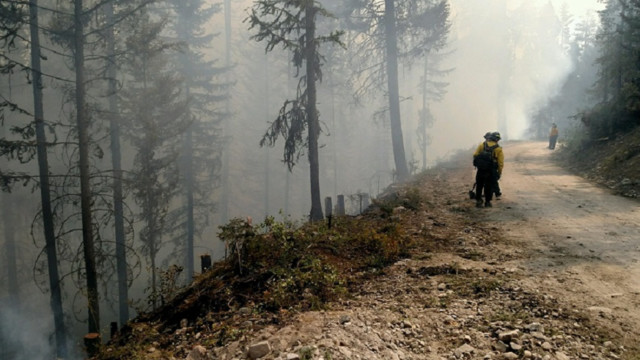 Fire evacuation ordered in Glacier National Park