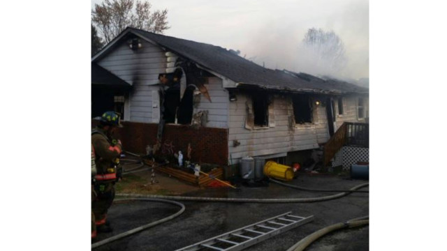 Crews respond to another home fire with explosion in Baltimore County