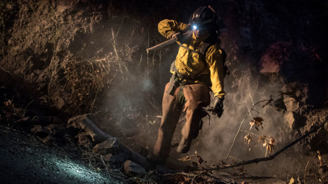 California's Thomas Fire is now the state's largest EVER