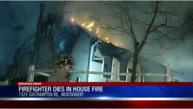 One firefighter in the hospital after house fire in Montgomery