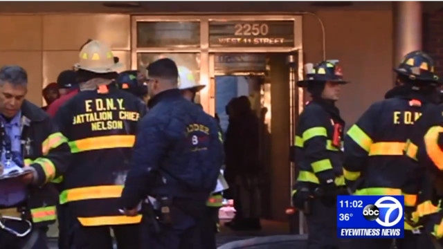 8 injured in Brooklyn apartment fire, 2 children in critical condition