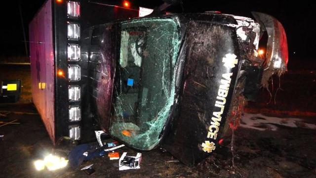 Ind. EMT dies in ambulance crash