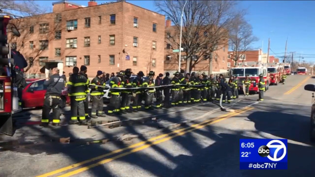 Man, teen girl killed in Bronx apartment blaze