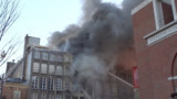 Watch Philadelphia Firefighters Tackle Fourth-Alarm Fire