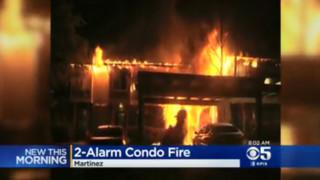 CA Apartment Fire Leaves Firefighter with Injuries