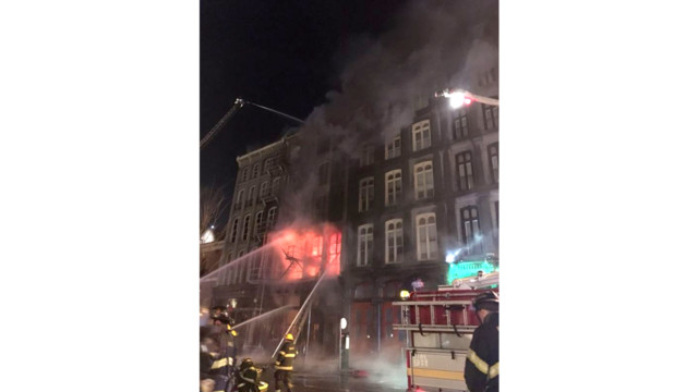 Fire Forces Hundreds from Four Philadelphia Buildings