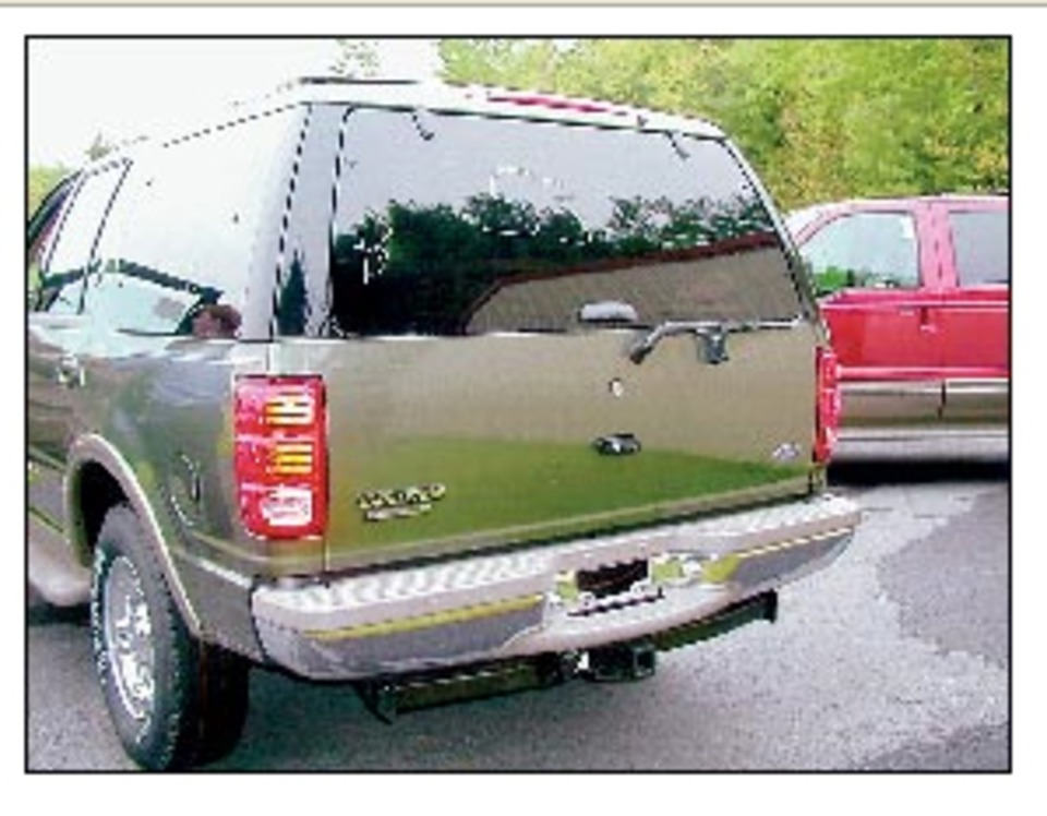 This Toyota 4runner S Rear Wiper Arm Sets Off The Gl Is A Clue That Window Either Lift Or