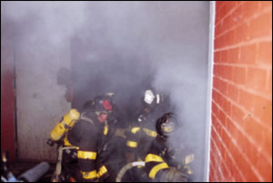 Pulling Ceiling During Fire Attack