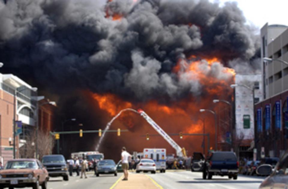Richmond, Virginia Blaze Traced to Dumpster