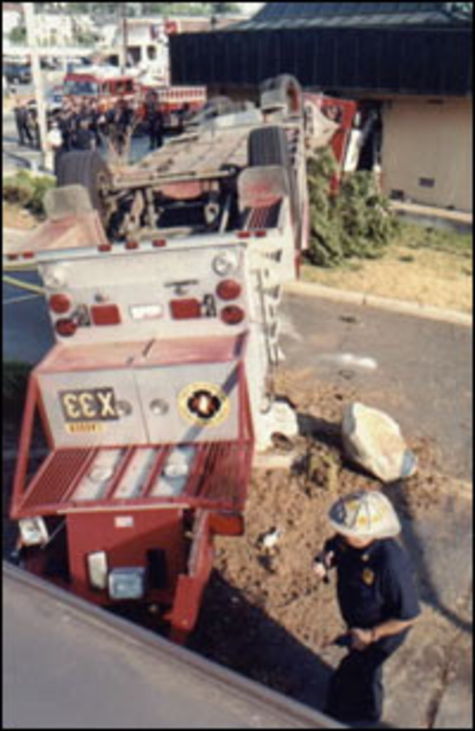 Ohio Firefighters Injured In 2002 Ladder Truck Crash Want