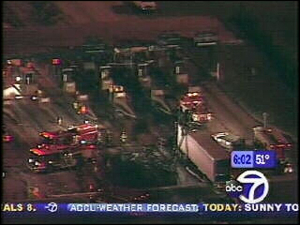 New Jersey Turnpike Truck Fire Causes Huge Delays