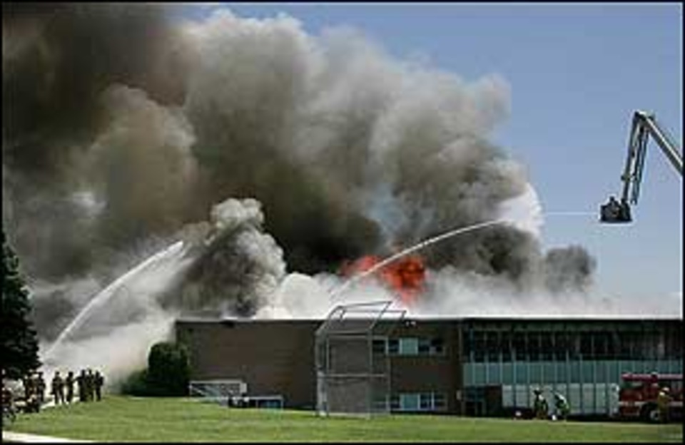 Electrical Problem Was Cause of Fire at Junior High in Utah