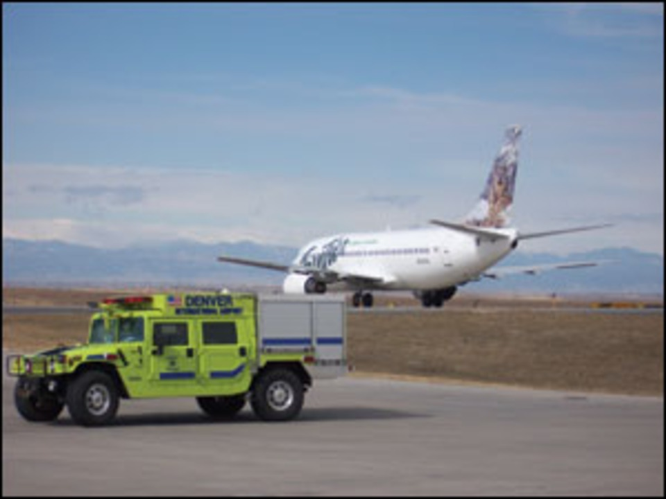 The Challenge of Firefighting at Denver International Airport