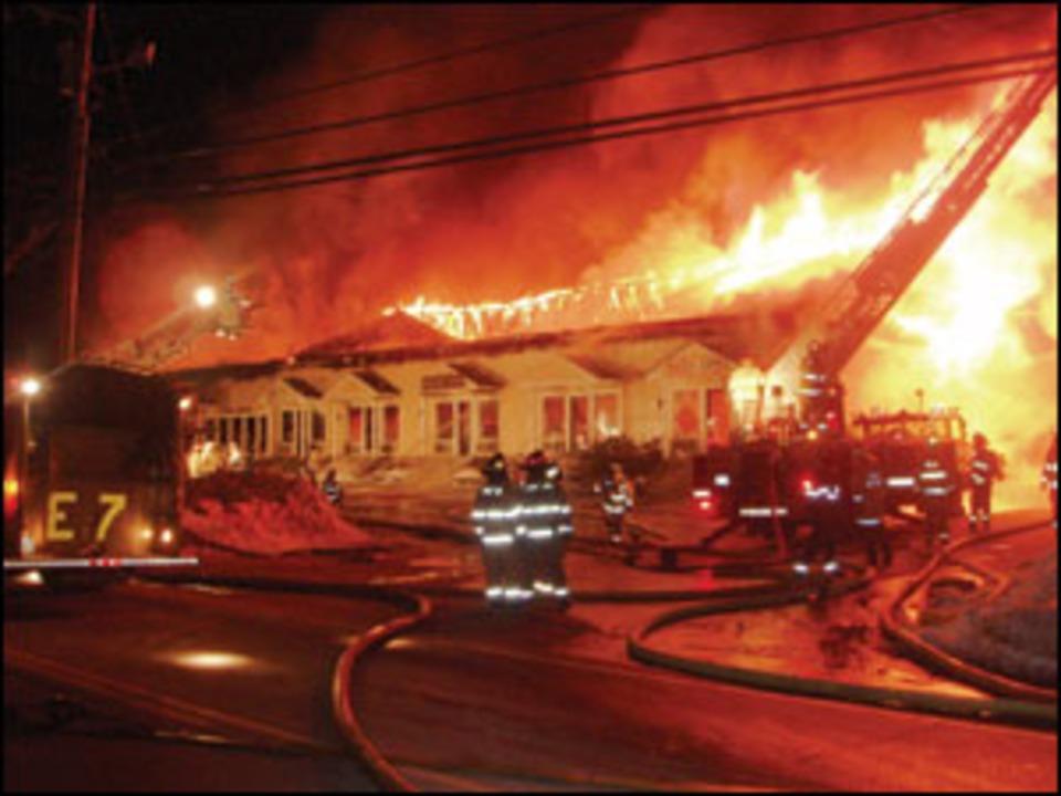 On The Job New Hampshire Firefighters Endure Sub