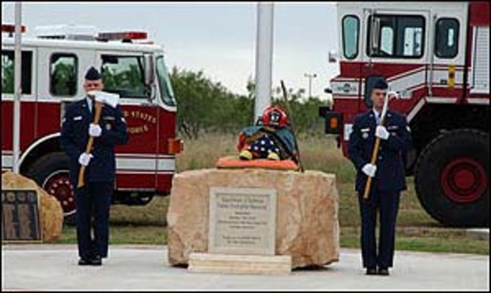 Dod Firefighters Memorial Opens At Texas Afb