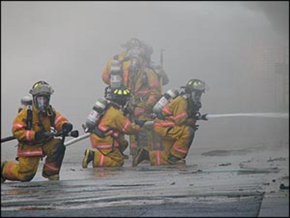 Richmond Virginia Firefighters Battle Massive Blaze in Utz