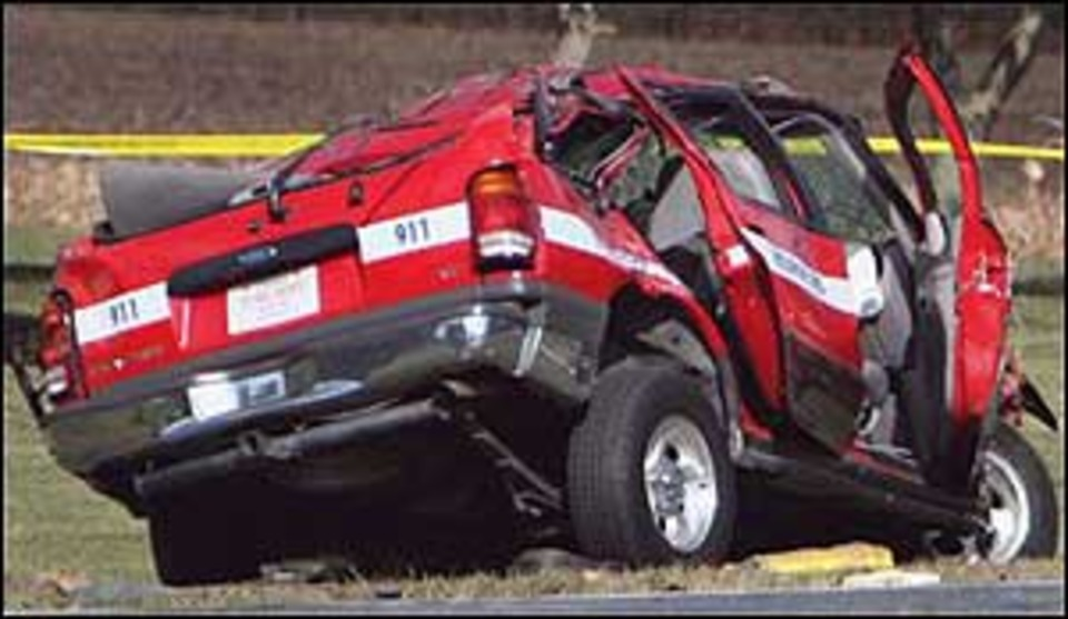 Maryland Firefighter Involved in Fatal Crash