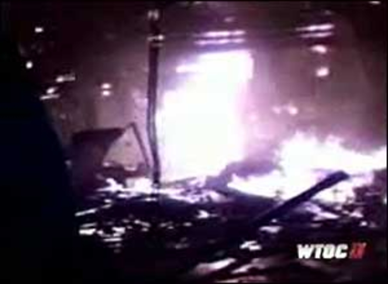 Helmet Cam Captures Georgia Sugar Refinery Blaze