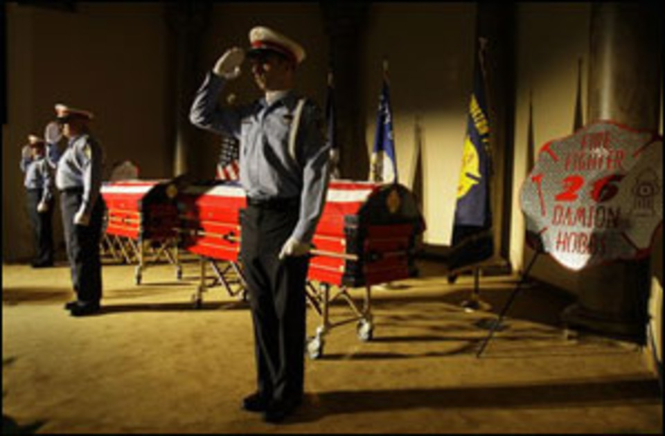 Houston Says Goodbye To Fallen Firefighters