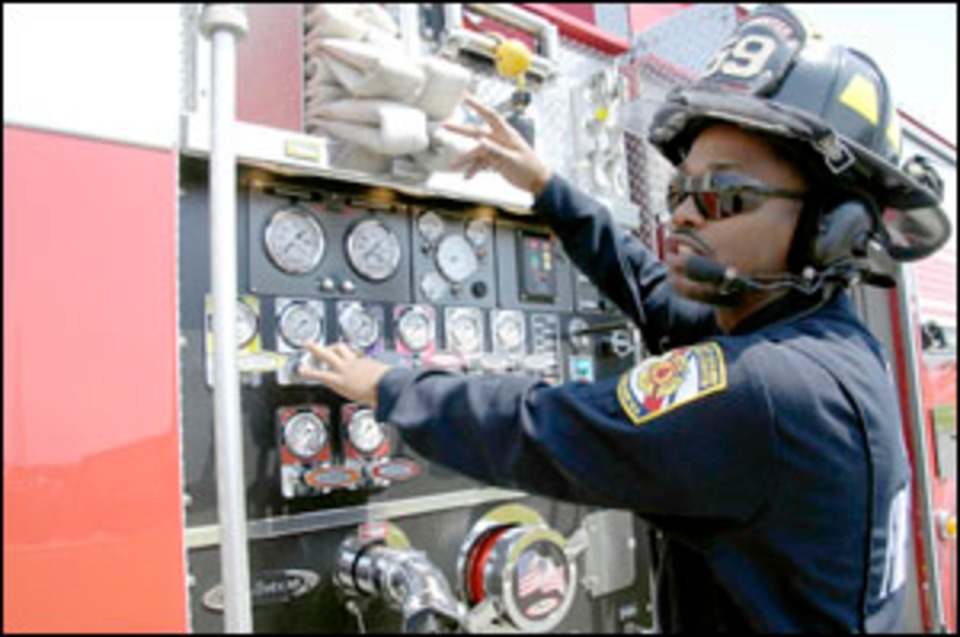 Coast Guard Serious About Firefighting
