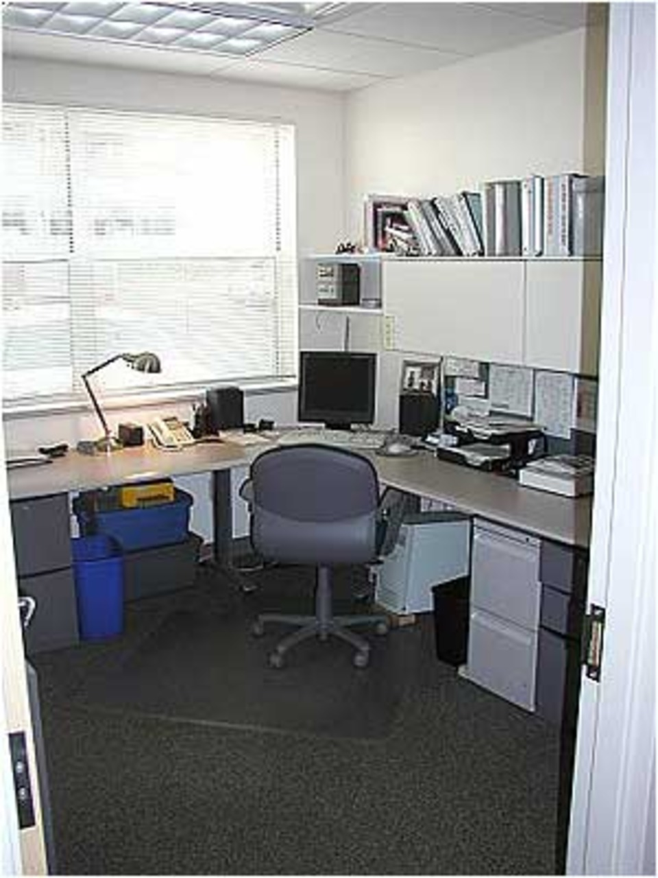 The Administrative Work Area Is Located Centrally Between The Offices And  Is The Primary Storage Area For Administrative Supplies.