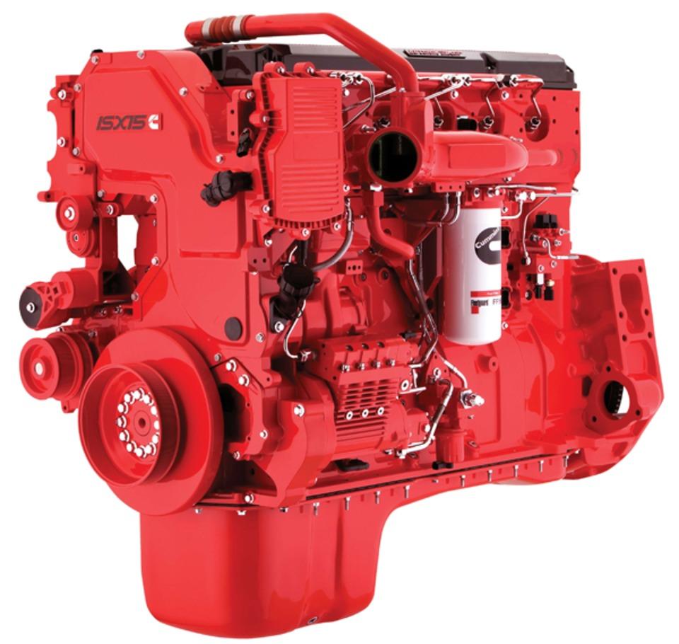 Pierce Offers New Cummins ISX15 Liter Engine