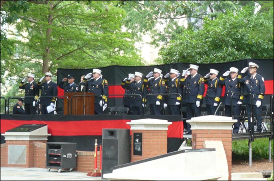 N C Firefighters Honor Their Fallen