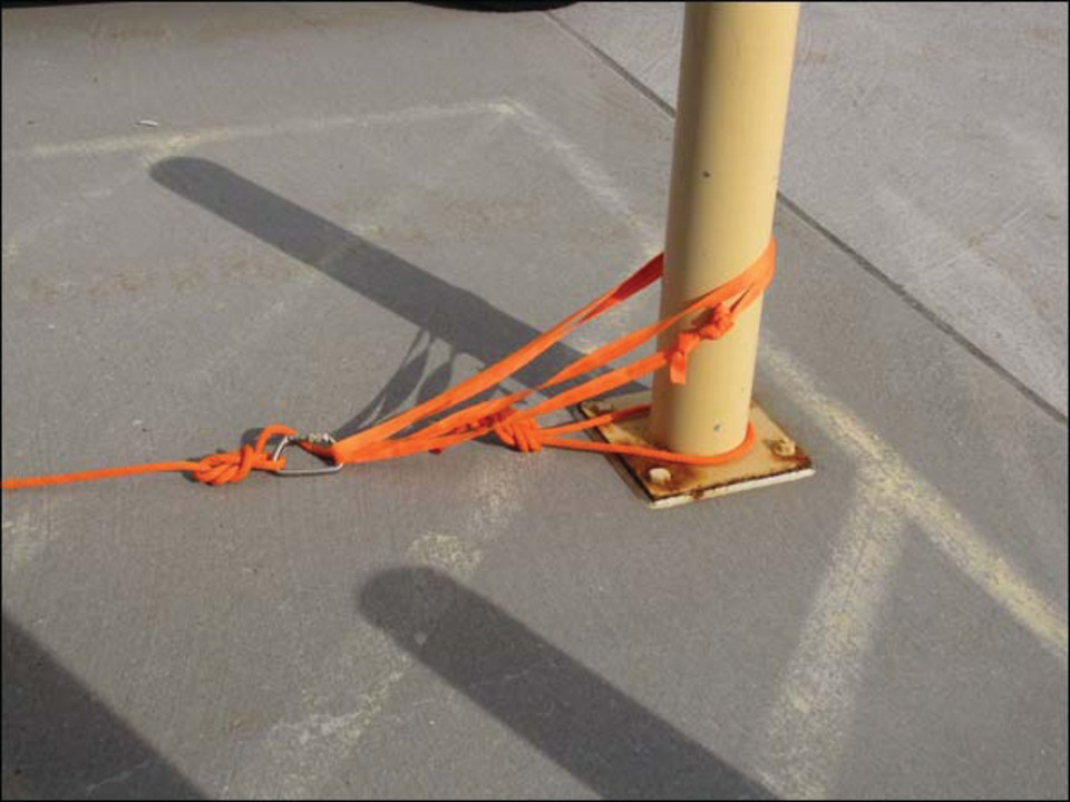 Anchor Systems For Rescue Rope Deployments