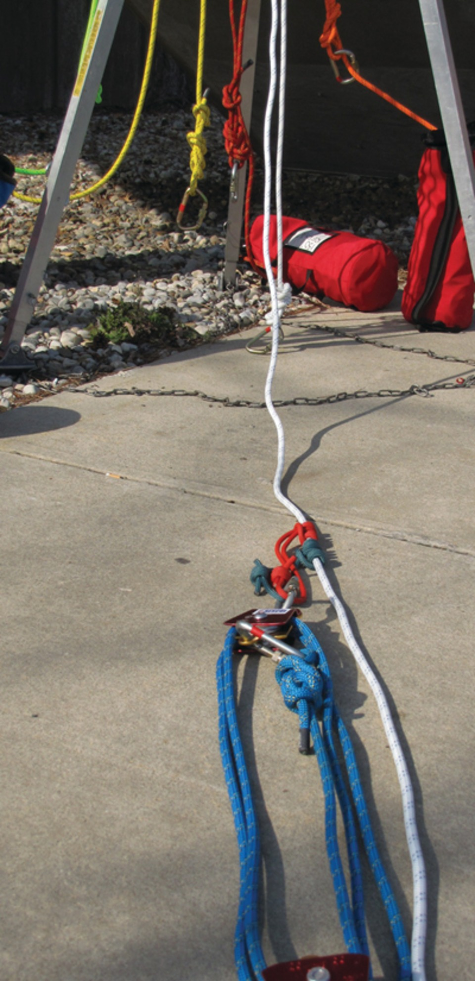 Rigging For Confined Space Operations Wire Harness