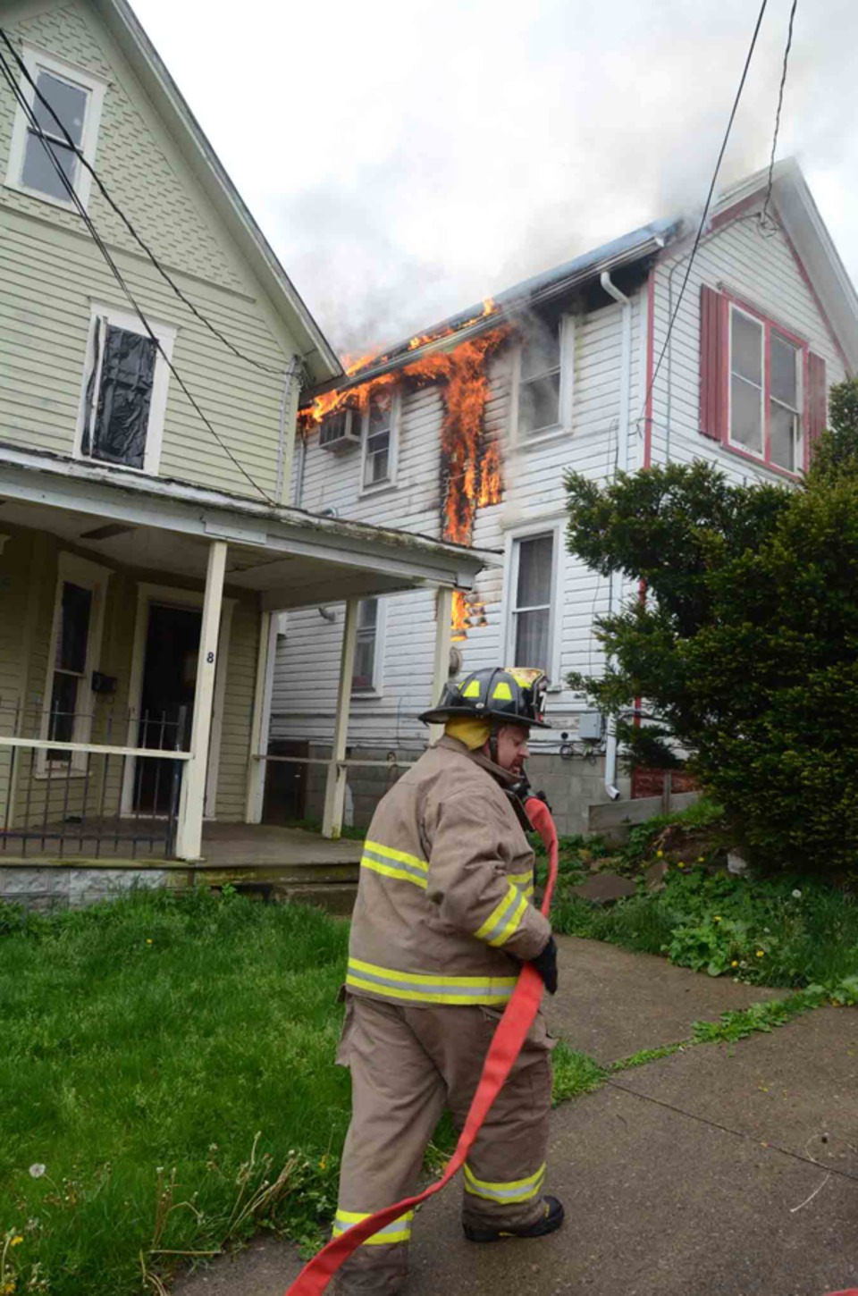 Bradford City Firefighters Contained May 7 House Fire On