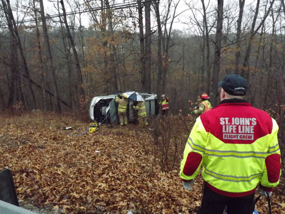 Southern Stone County Firefighters Extricate Occupants from