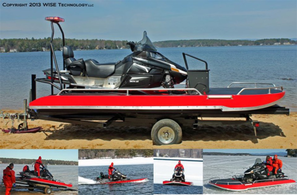 N H  Company Introduces AIR Responder For Water, Ice Rescues