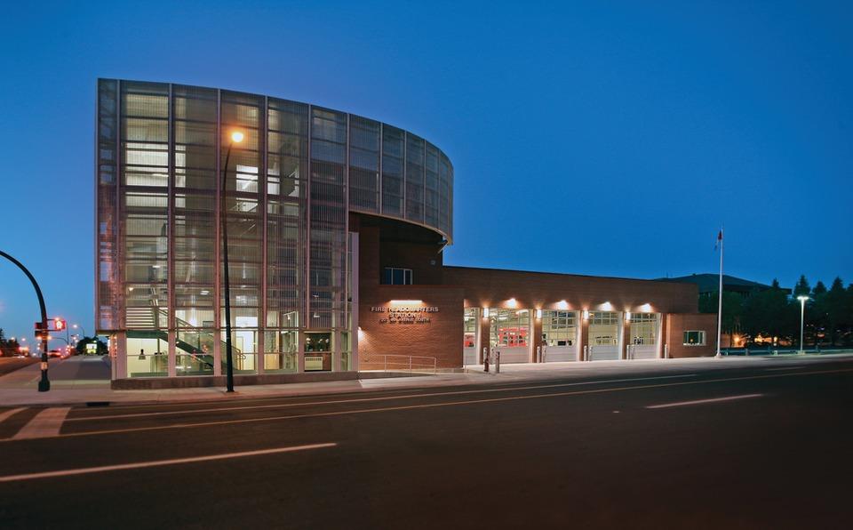 Fire Station Design: From Blueprints to Bunk Beds on modern library design, modern heart design, modern queen design, modern fuel design, modern school design, modern rainbow design,