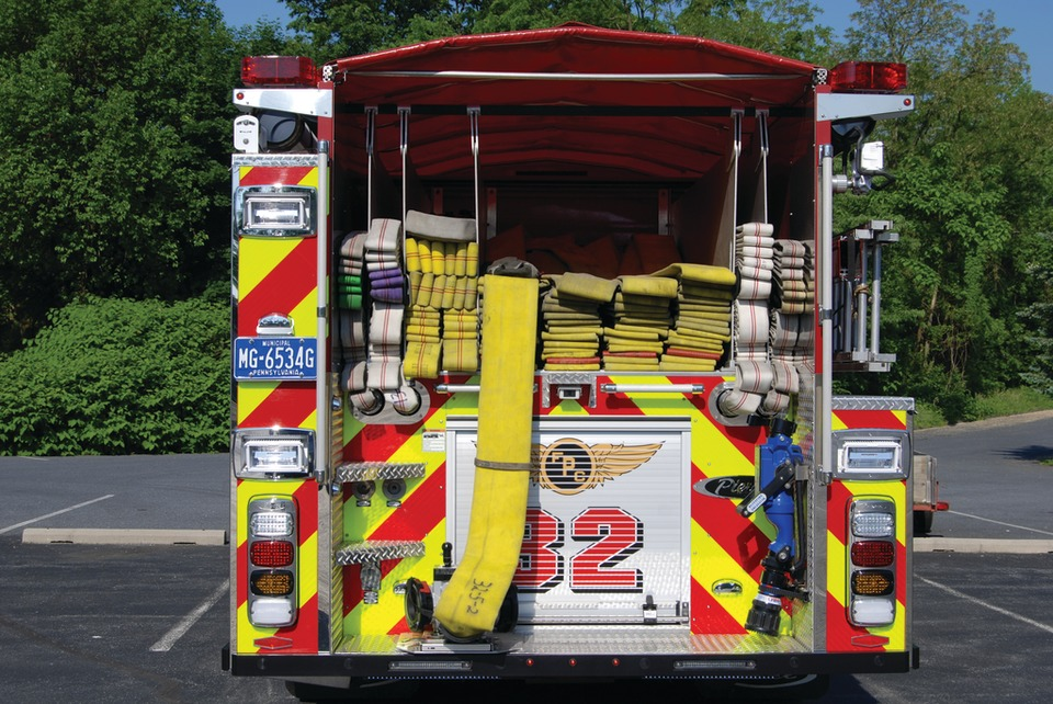 Credit Photo by Tom Shand. Engine 32 from the Progress Fire ... & FIRE u0026 EMERGENCY APPARATUS