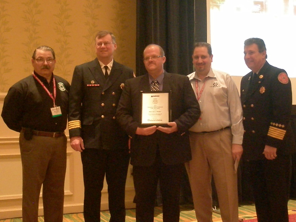 Mitch Perry Named Emergency Vehicle Technician Of The Year Fire