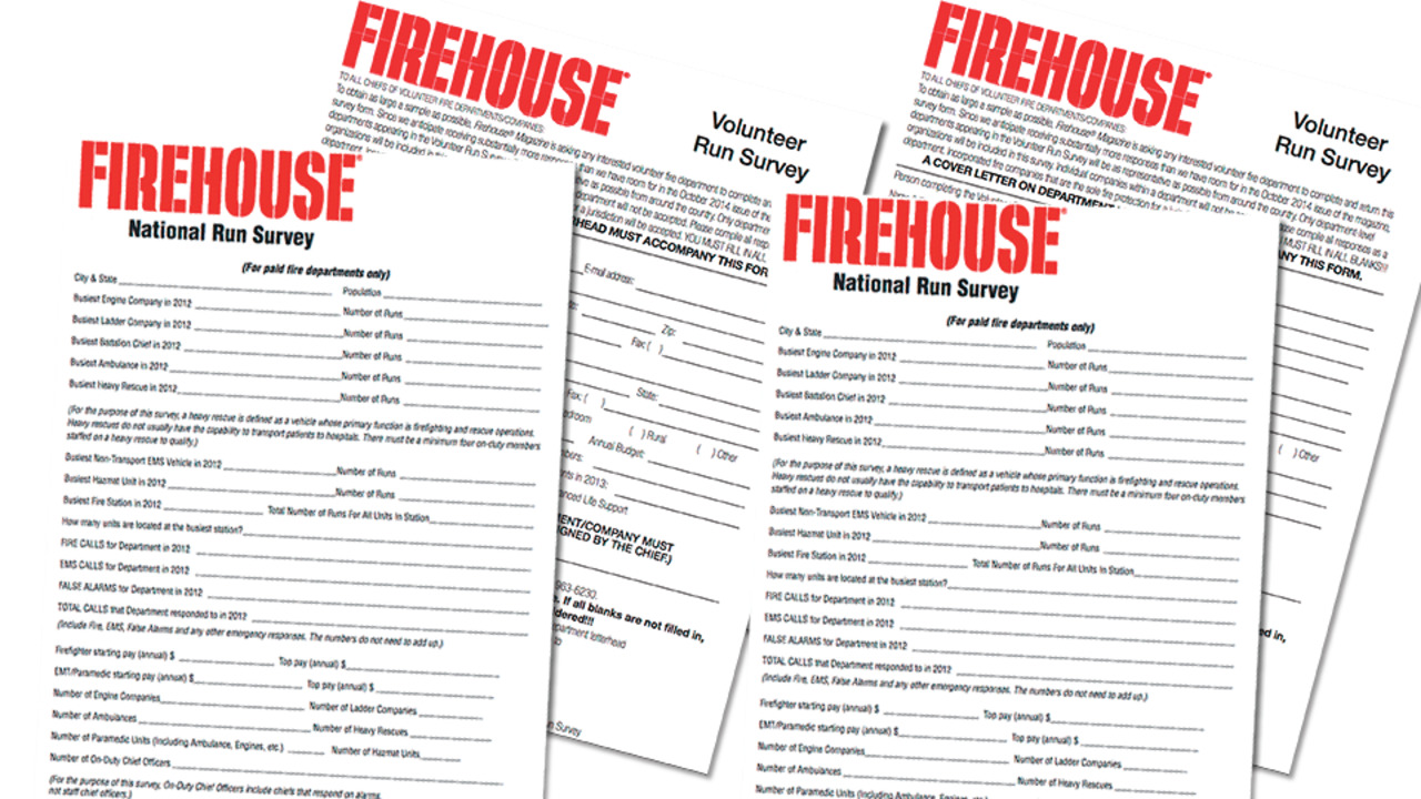 Run Surveys   Firehouse