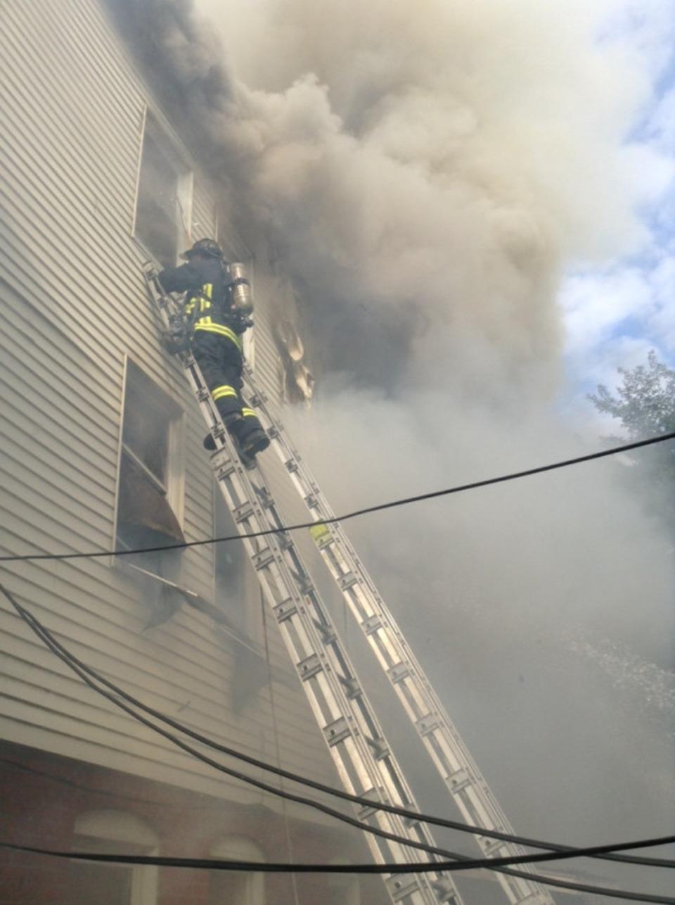 Credit Boston Fire Department P O