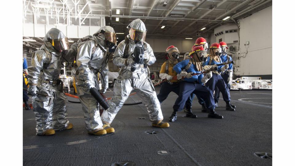 u s  navy  marine  military firefighter action photos