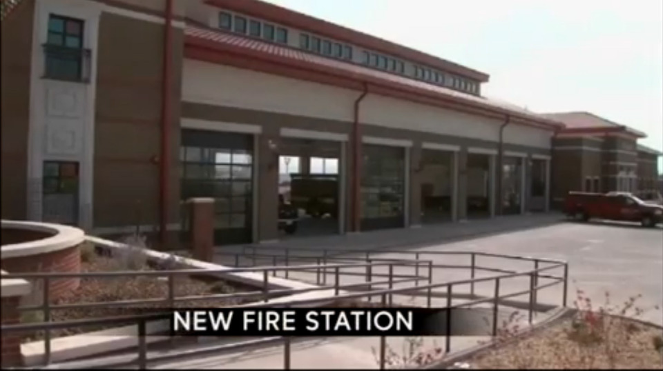 New 4 2m El Paso Texas Fire Station Opens