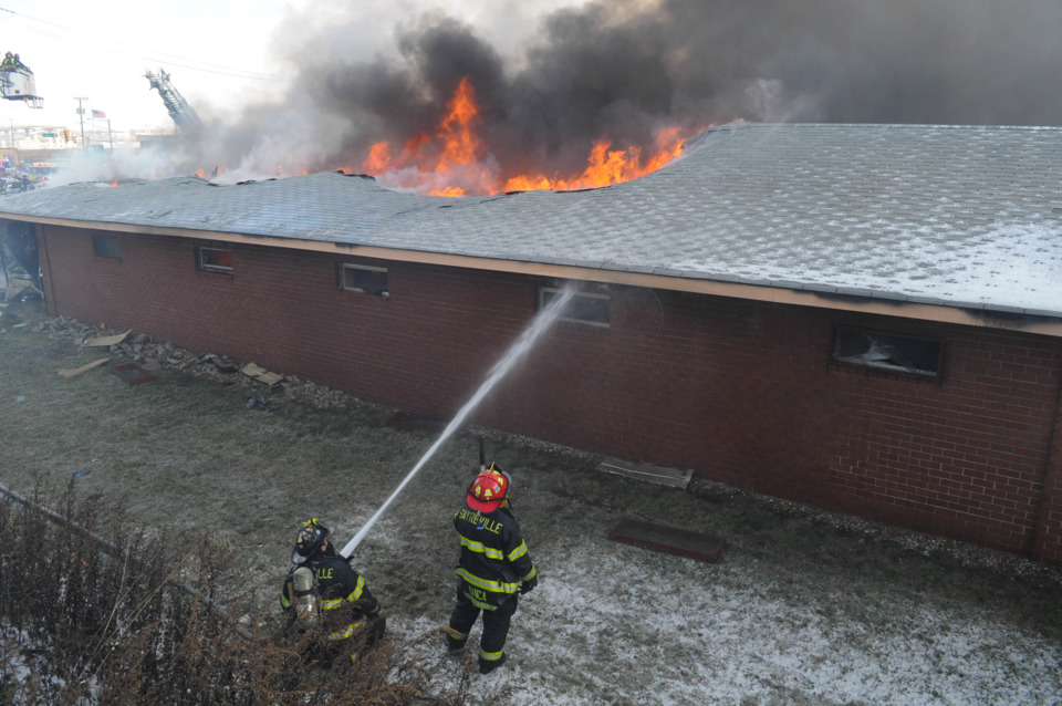 Trench Cut Used On Sayreville N J Hotel Fire