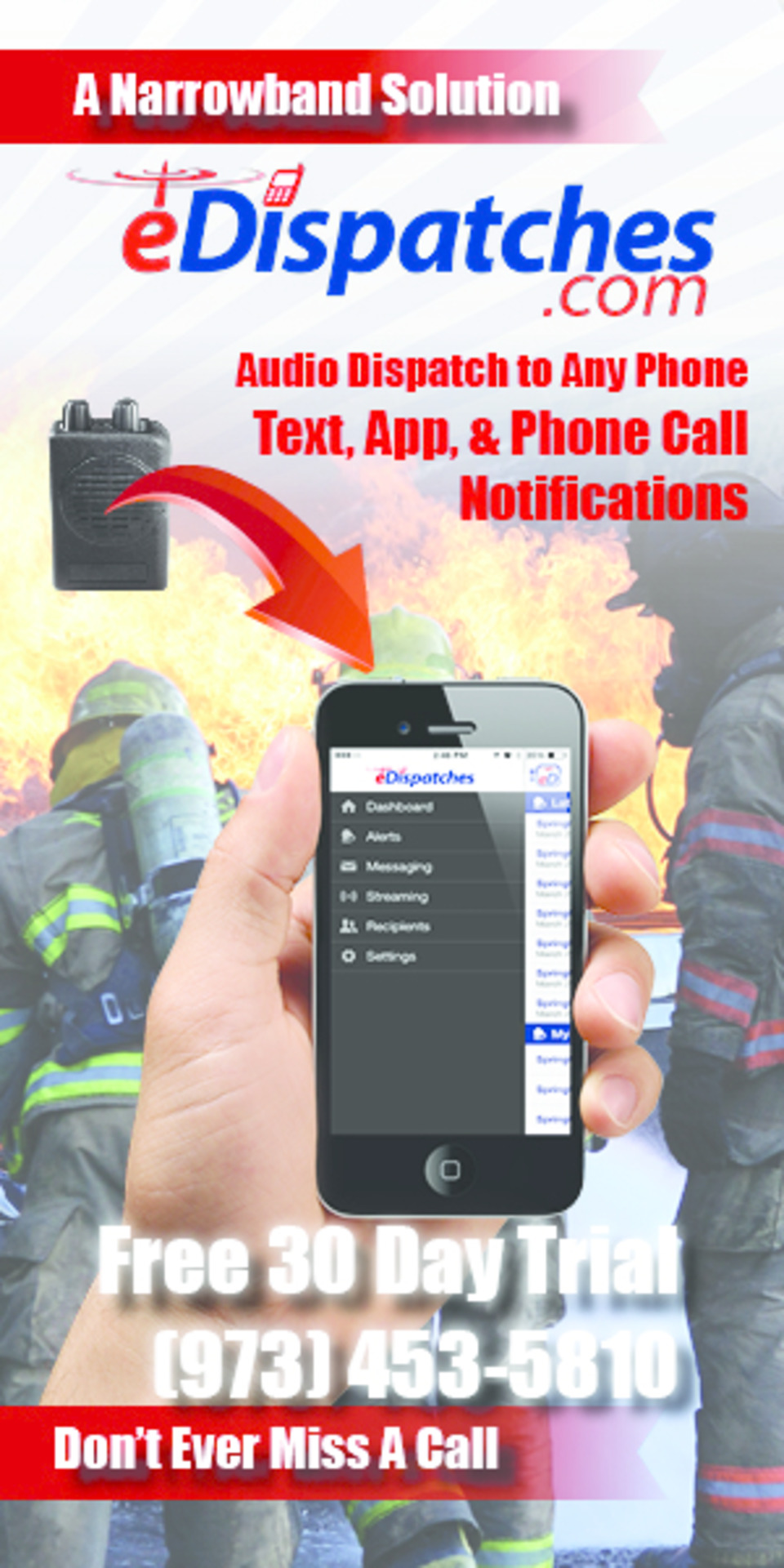 eDispatches - Firefighter Audio and Text Dispatching