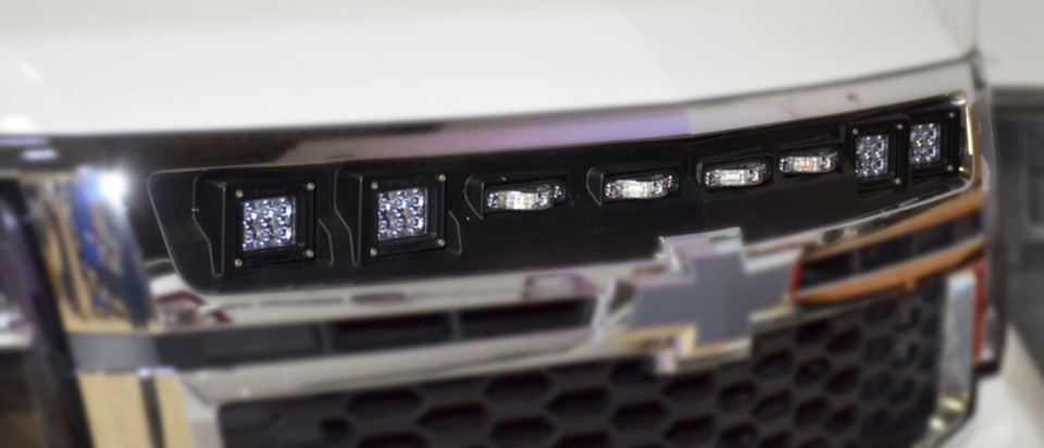 The Illumi Grille Provides Full Intersection Coverage Without Having To Cut  Any Holes Into The Vehicle. The Illumi Grille Is Easy To Install, Laser  Measured ...
