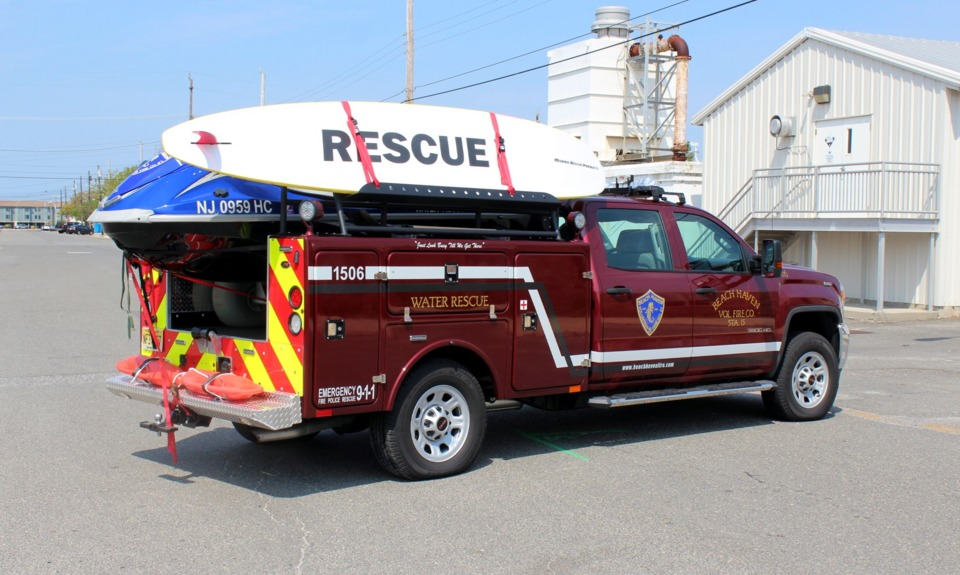 Beach Haven N J Volunteer Fire Co Gets New Water