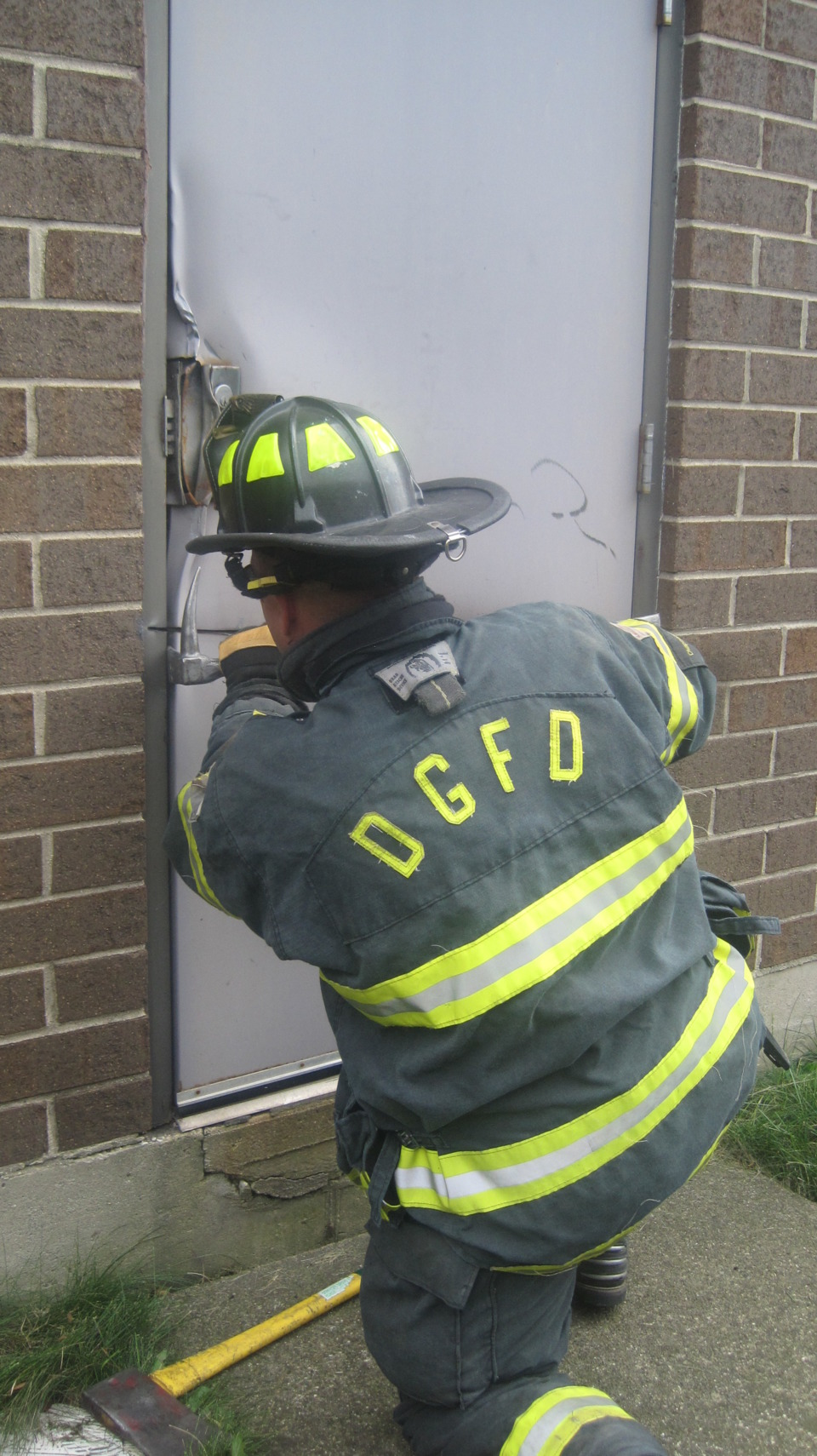 Forcible Entry For Outward Swinging Doors The Doggy Door