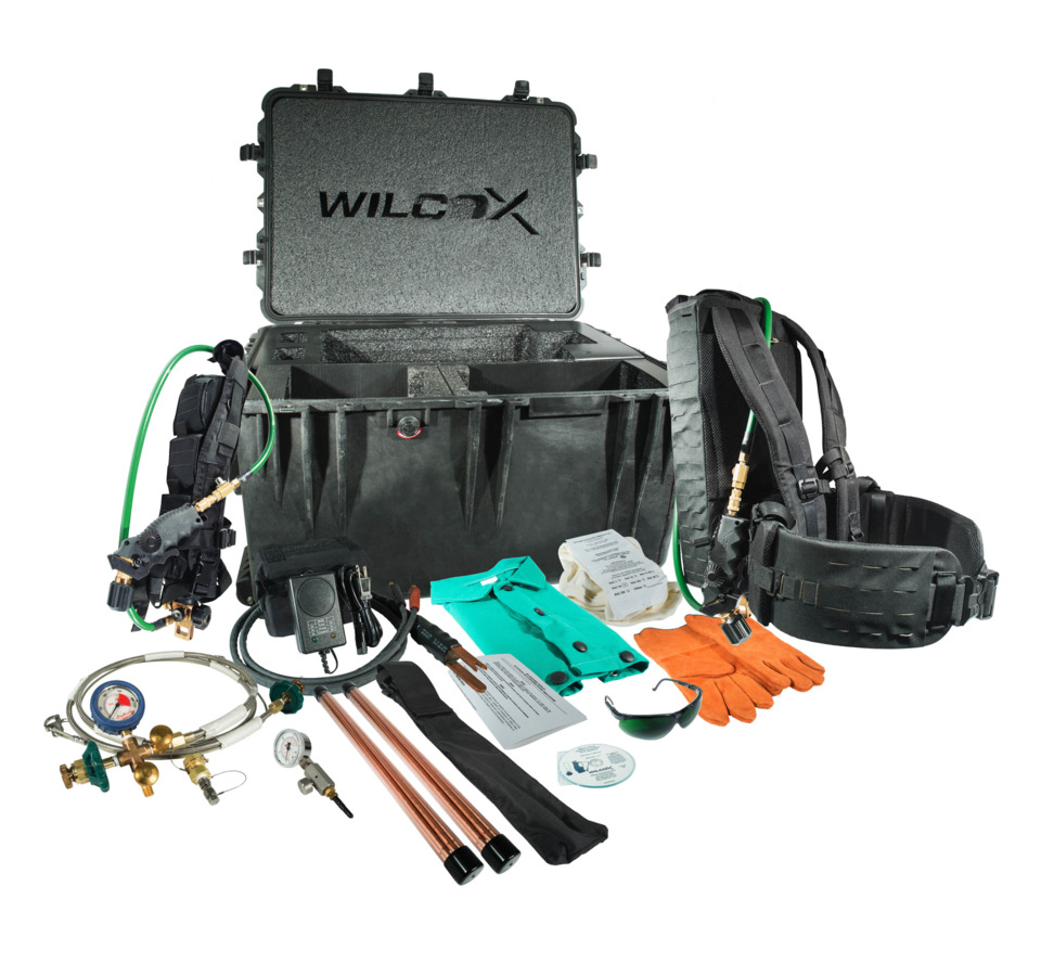Wilcox Industries Corp  Wilcox Makes Cutting Torch Kit